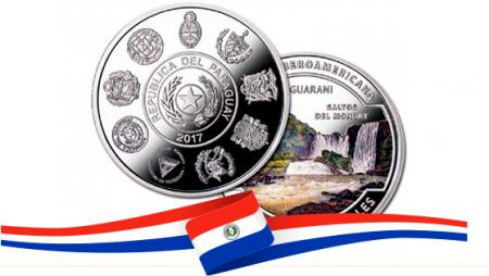 Moneda de colección de 1 Guaraní gana Premio LatiNum