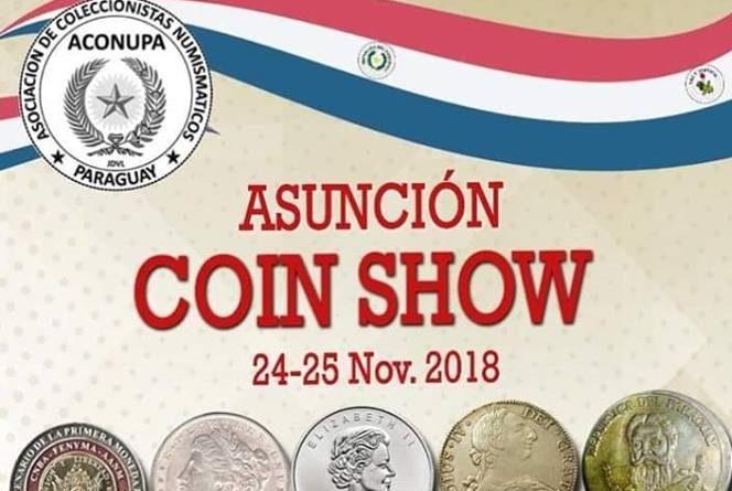 Asunción Coin Show fue declarado de INTERÉS CULTURAL