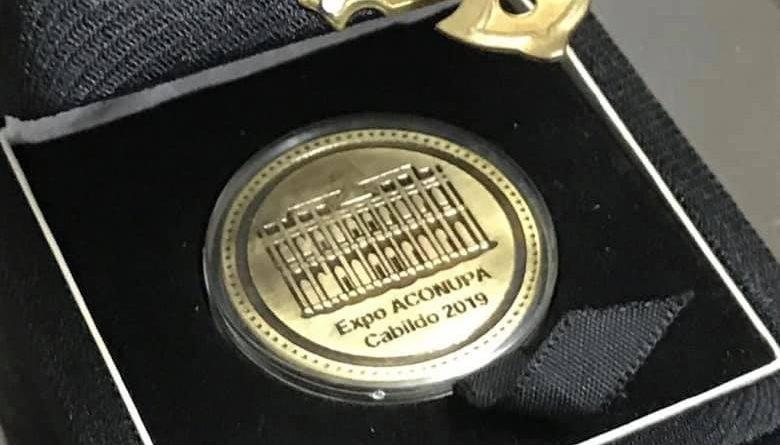 Medallas Conmemorativas Expo Aconupa – Cabildo 2019