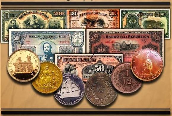 Exposición de Monedas y Billetes del Paraguay y el Mundo