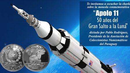 ACONUPA presente el evento «APOLO 11, 50 años del Gran Salto a la Luna»