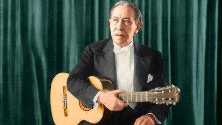 Agustín Pío Barrios: Billete de Gs. 50.000.-