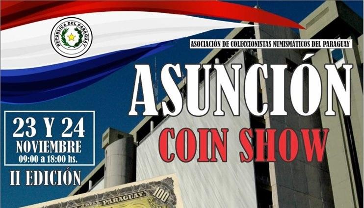 Declarado de Interés Cultural al evento Asunción Coin Show