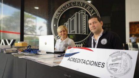 ¡Comenzó el Asunción Coin Show! ¡Los esperamos!