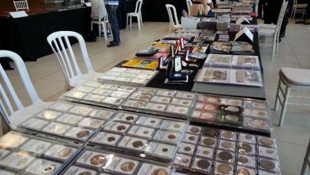 Culmina hoy encuentro de numismáticos