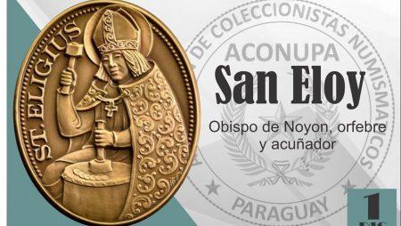 San Eloy: Obispo de Noyon, orfebre y acuñador
