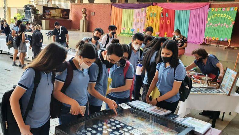 Expo Numismática en ENC Nº 1
