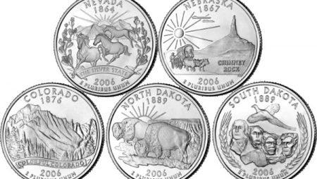 Cuartos de dólar de los parques nacionales